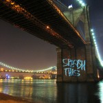 Projector art transforms public spaces