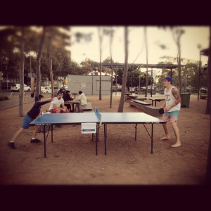 Popup Ping Pong: From temporary to permanent - this activation has proved community interest and tested design.
