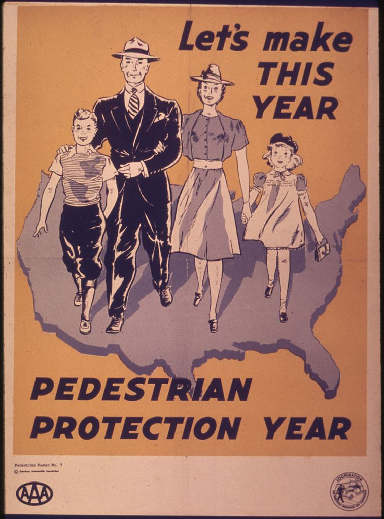 Are we ready to get serious about protecting the pedestrian?  (image: Creative Commons)