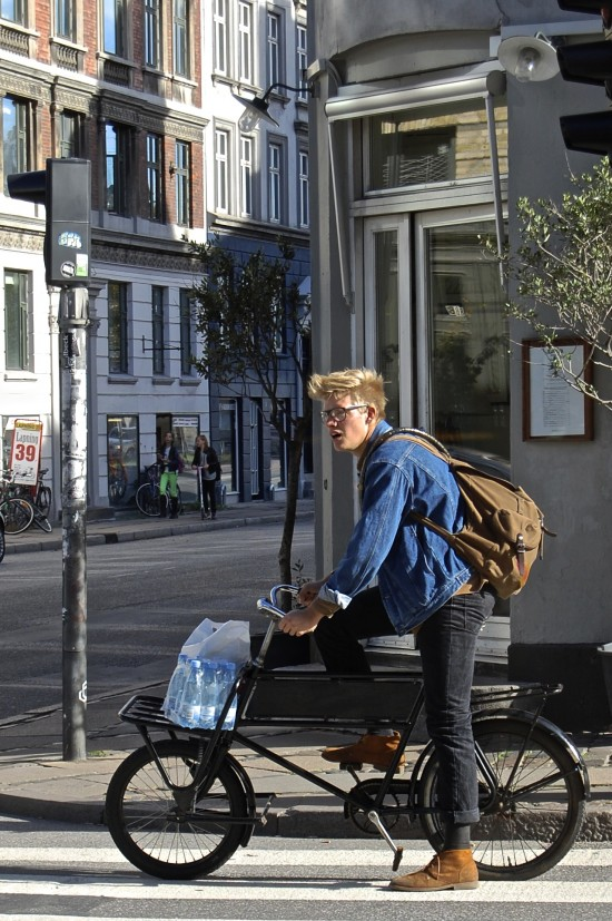 Copenhagen: A city without cyclists, rather 'people who happen to ride bicycles'