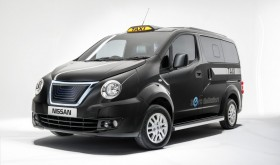 New electric taxi in London (UK)