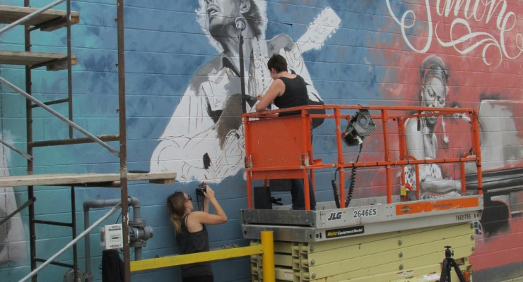 Art Alley making its mark on streetscape and street life